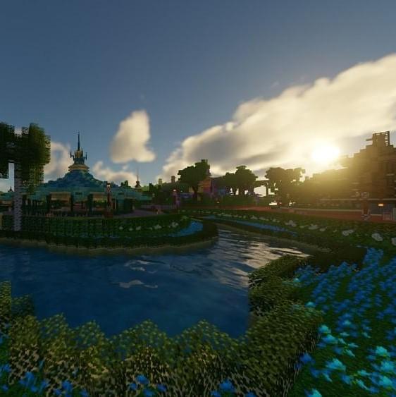 Image de Magiccraft sur minecraft disneyland paris